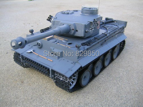Free shipping Free shipping 1/16 Remote Control German Tiger I Battle RC Tank RTR R/C(China (Mainland))