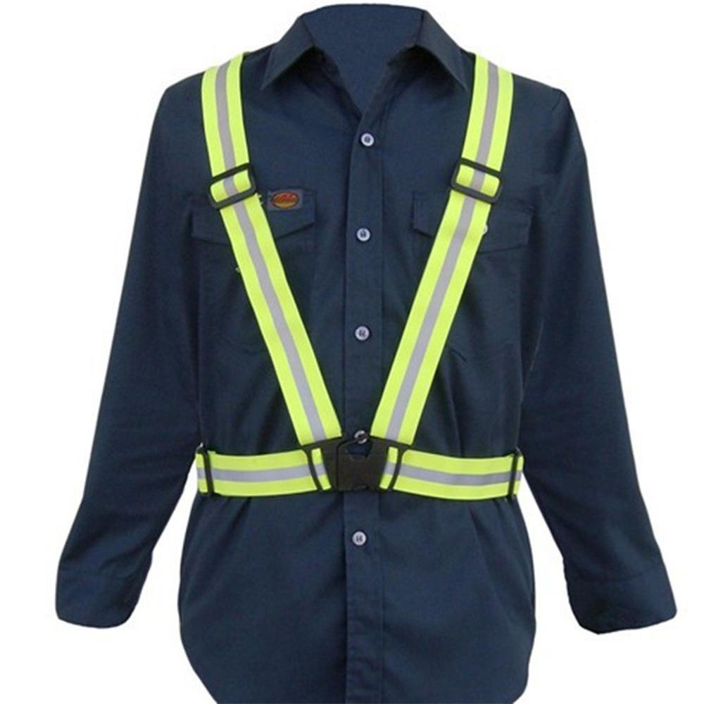 Adjustable-Safety-Security-High-Visibility-Reflective-Vest-Gear-Stripes-Belt-Jacket (3)