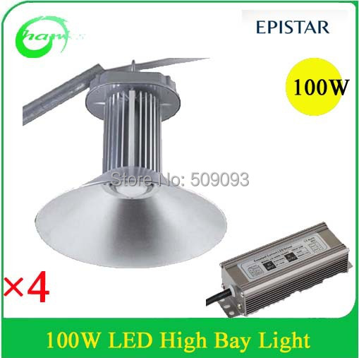 Supermarket and industrial led 100w led highbay lighting ,45/90/120 degree aluminum reflector available(China (Mainland))