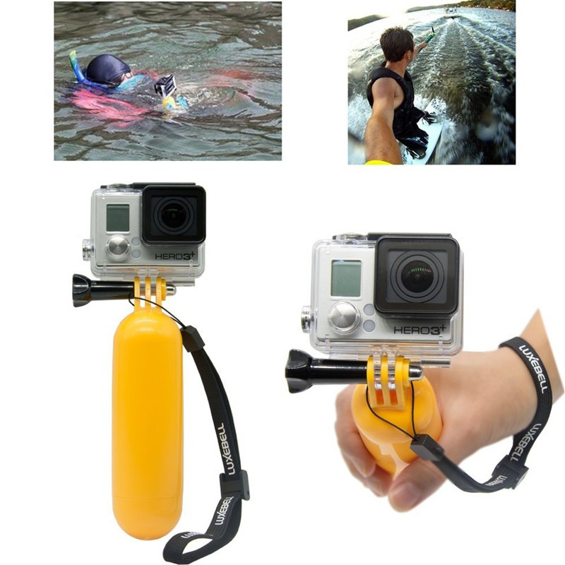 GOPRO Accessories 27 in1 Monopod Pole Floating Head Chest Mount Tripod For GoPro 2 3 4 SJCAM SJ4000 Xiaomi Yi Sport Camera