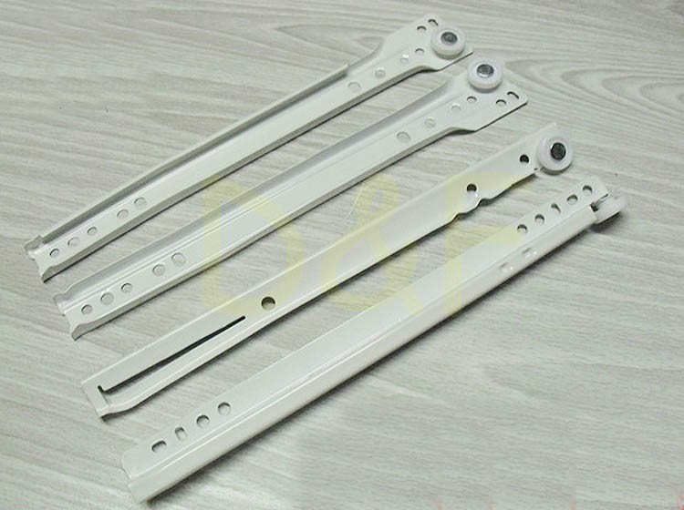 10'' Furniture Hardware Drawer Slider Track New Rail Cabinet Slide Rail Ordinary Muffler(China (Mainland))