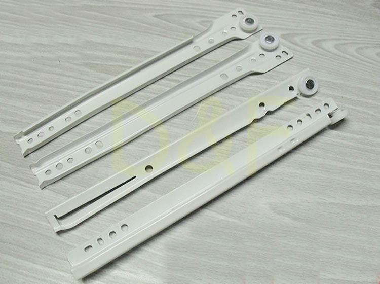 10'' Furniture Hardware Drawer Slider Track New Rail Cabinet Slide Rail Ordinary Muffler(China (Mainland))