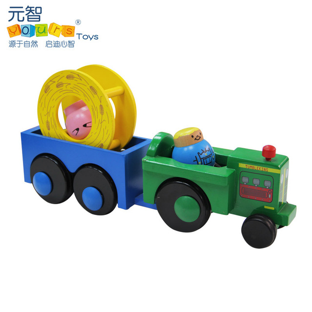 Yours hc0416 child eco-friendly paint toy car tractor