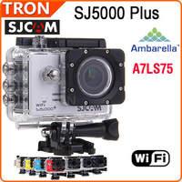 """Original SJCAM SJ5000 Plus HD Camera For GoPro SJ4000 Ambarella A7LS75 Action Camera 1.5"""" LCD CAR DVR"""