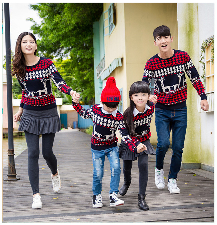 Coordinating Sweater Family - Cashmere Sweater England