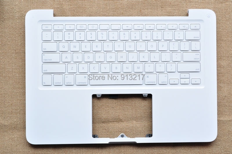 """Original 13.3"""" Laptop C Case Shell Housing With US Keyboard For A1342 MC207 MC515(China (Mainland))"""