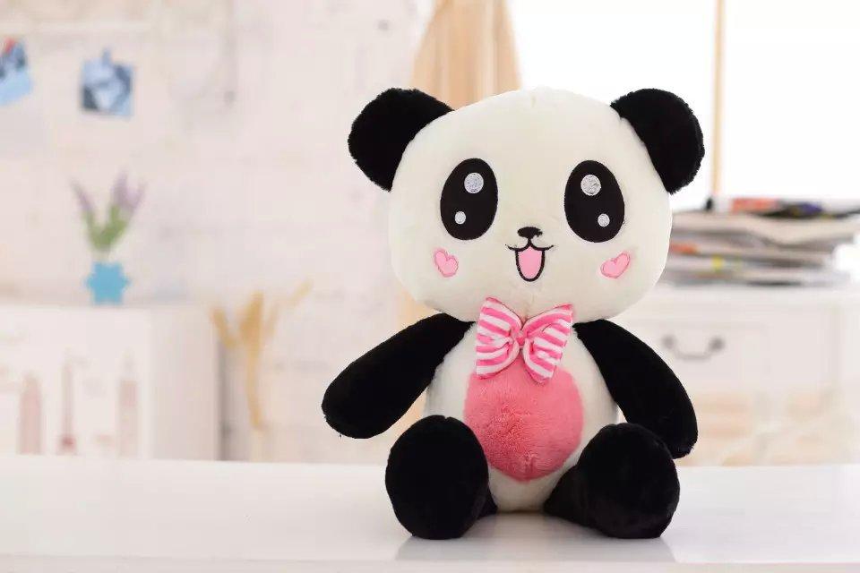 "Free Shipping Panda Plush Toy Panda Doll With Scarf 60cm and 80cm size 24"" 31"" Panda Soft Gift Kids Gift NEW(China (Mainland))"