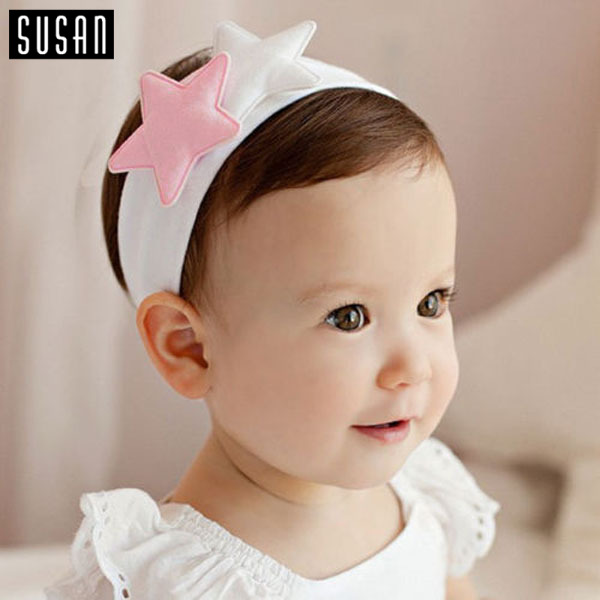 1 PC Newborn Kids Girl Baby Toddler Infant Child Multi Style 2 Five Star Hairband Headband Hair Band Accessories Headwear(China (Mainland))