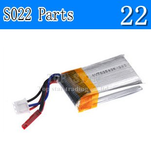 Syma RC Helicopter S022 Helicopter Parts S022 Battery(China (Mainland))
