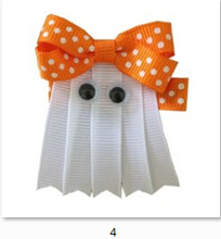 240pcs 2015newest Halloween hairclips Kids Party Decoration Supplies Costume Accessories Pumpkin baby Headband HairBand for baby(China (Mainland))