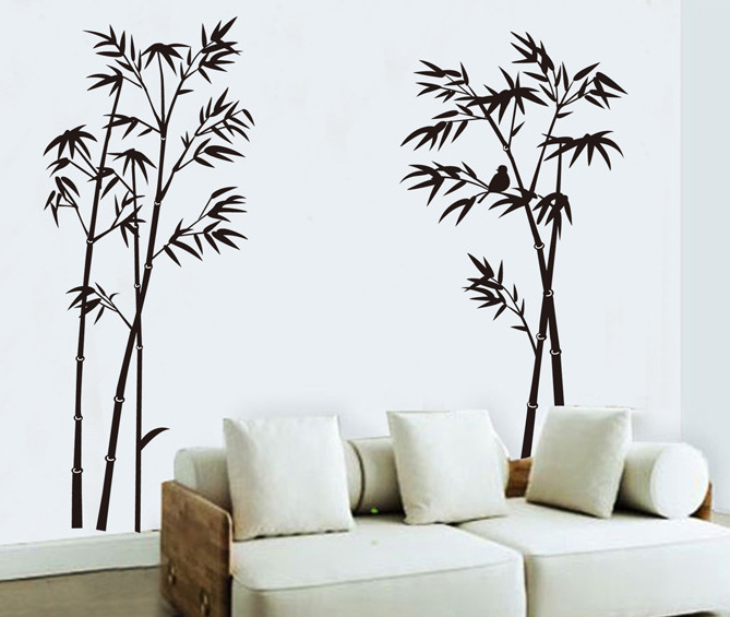 Large wall decals for living room wall decal world map for Black wall mural