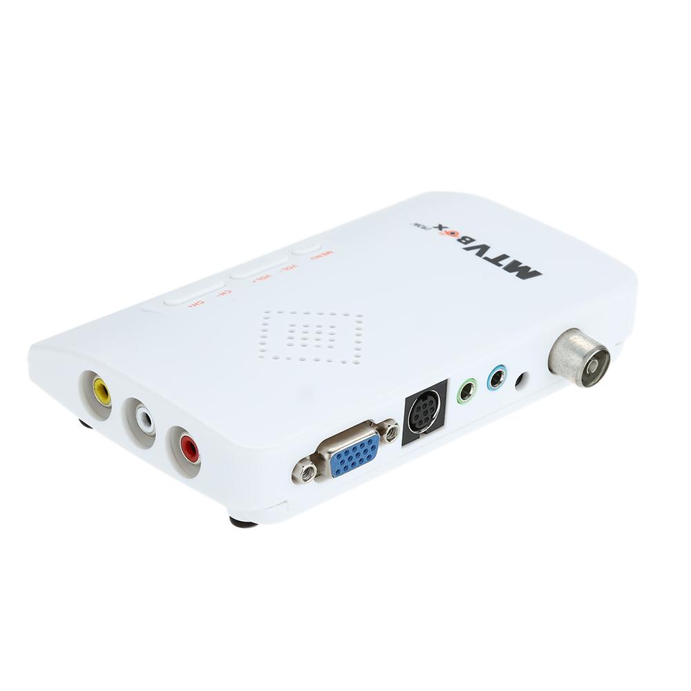 Smart Digital Portable HDTV HD LCD TV Box / Analog TV Tuner Box / CRT monitor Computer TV Program Receiver.(China (Mainland))
