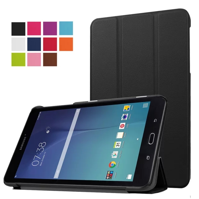 "For Samsung Galaxy Tab E 8.0 inch,Ultra Slim Lightweight Standing Cover for Samsung Galaxy Tab E 8"" SM-T377 4G LTE 8-Inch Tablet(China (Mainland))"