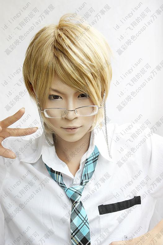 <b>Akito Takagi</b> Totsuka Tatara Ichijou Takuma natsume takashi Short Blonde ... - Akito-font-b-Takagi-b-font-Totsuka-Tatara-Ichijou-Takuma-natsume-takashi-Short-Blonde-Cosplay-Costume