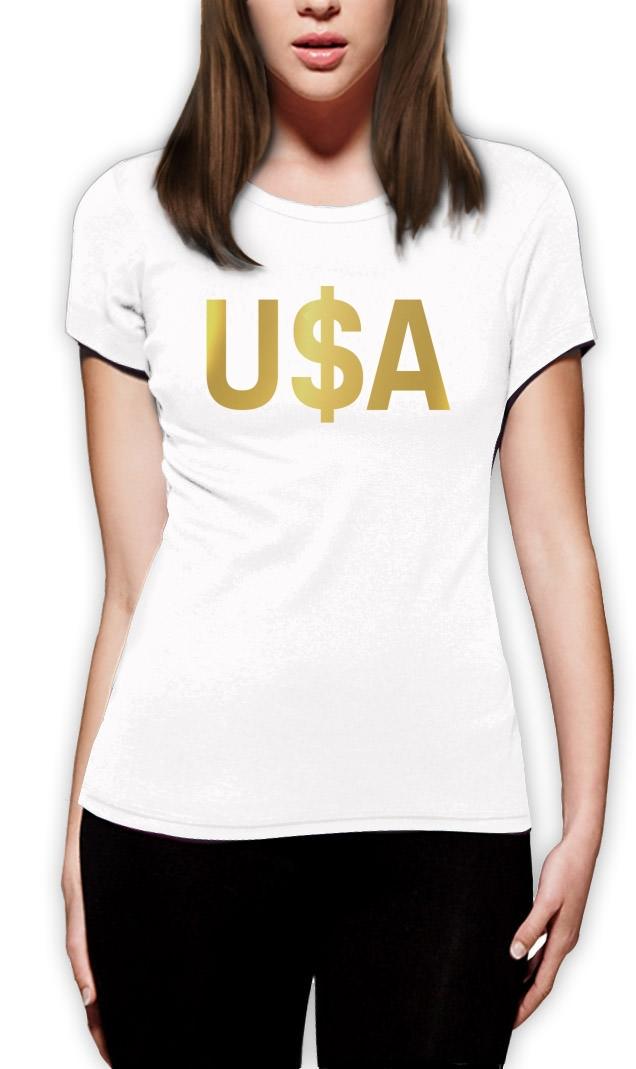 High Quality Cotton Women Tops Hip Hop USA Money T-shirt Women Boxing Beast Champs Floyd Fan fight Team Diamond TShirt(China (Mainland))