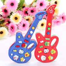 2015 New Electronic Guitar Toy Nursery Rhyme Music Children Baby Kids Toy Gift  1SFY 5GDP(China (Mainland))