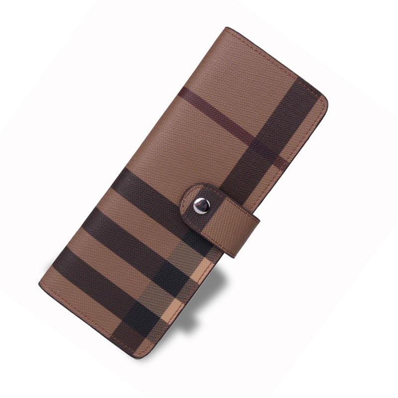 Popular personality customization model of commercial bank card bag men and women fashion grid cardcase high-capacity card bag(China (Mainland))