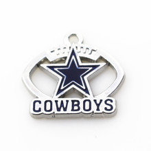 Buy 20pcs/lot Dallas Cowboys NFL Team Hanging Dangle Charms Floating Charms Bracele&bangles Jewelry Accessory for $7.83 in AliExpress store