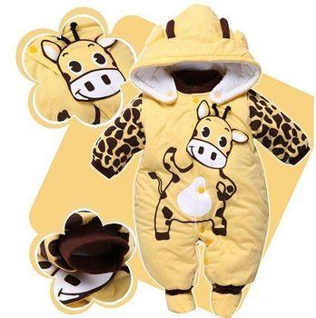 На высшем уровне зима теплая комбинезоны божья коровка и коровы дети куртки пальто для детей , одежда комбинезоны ребенка ползунки