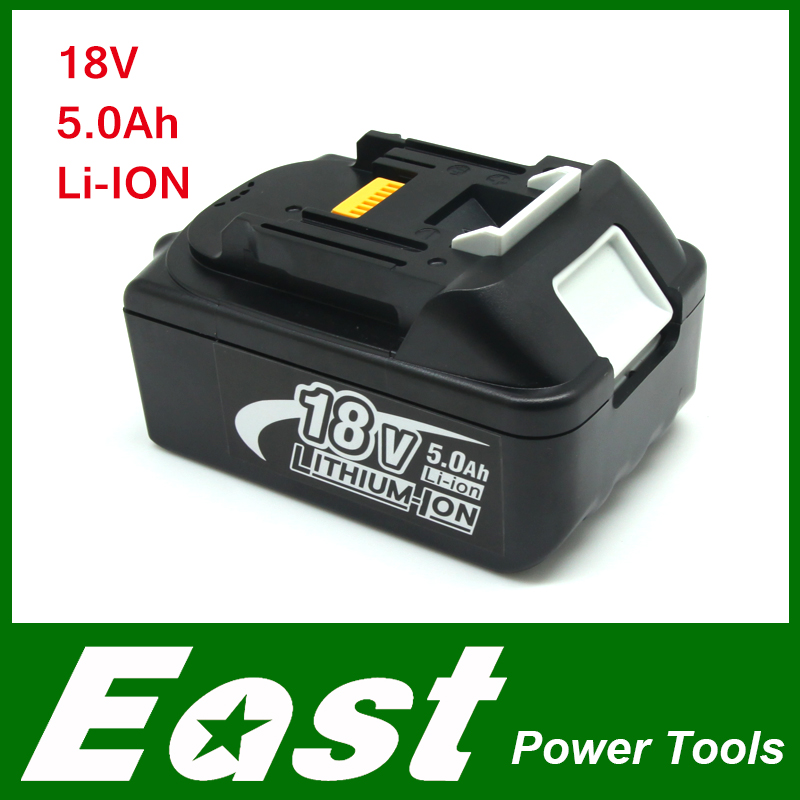 East Spare parts Rechargeable batteries for Makita BL1850 LXT Lithium Ion 5.0 Ah Battery power tool spares for power tools(China (Mainland))
