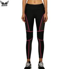 MADHERO women's professional outdoor sports running pants sexy stretch mesh honeycomb running tights yoga pants