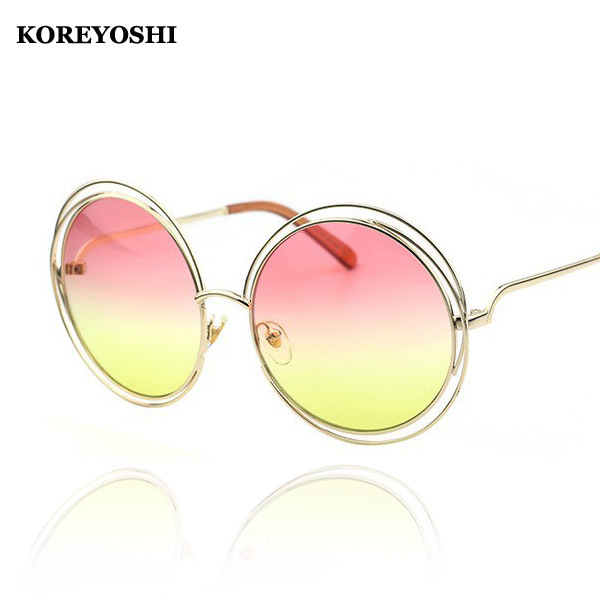 Wire Frame Glasses Trend : Newest Fashion Round Wire Frame Coating Glasses Eyewear ...