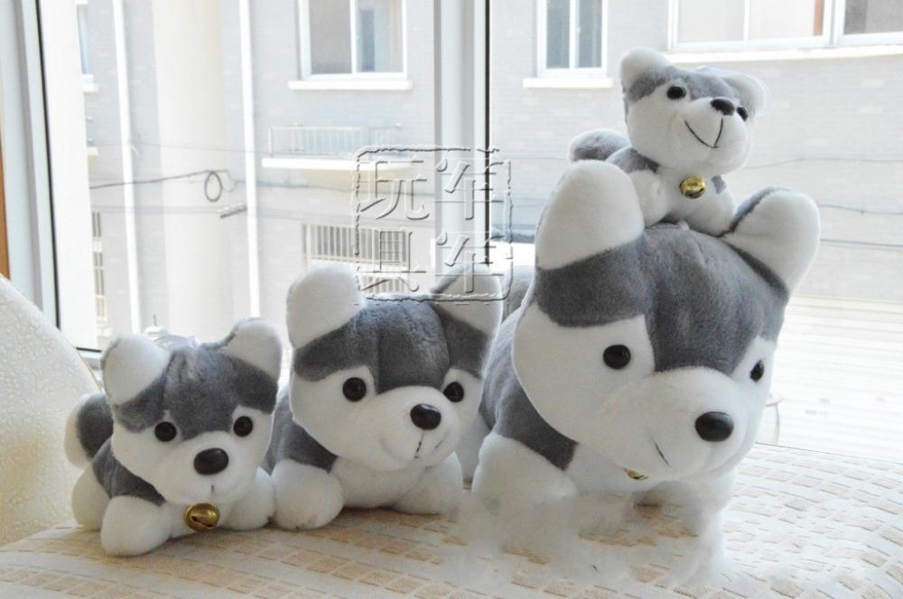 Детская плюшевая игрушка OEM 1 20/50 , pelucia Husky dog plush wholesale husky plush toy dog 40cm the whole network lowest price free shipping