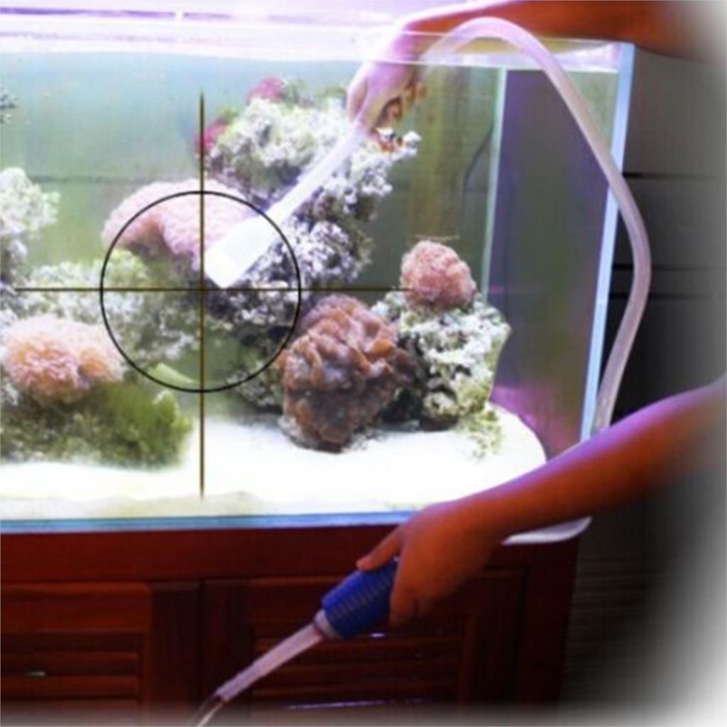 Hotsale mini fish hose tank filter gravel cleaner vacuum for Fish tank hose