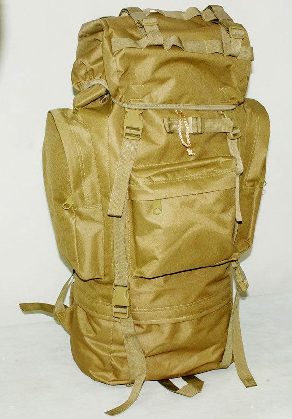 Здесь можно купить  65L COMBAT RUCKSACK CAMPING BACKPACK BAG SAND- free ship  Камера и Сумки