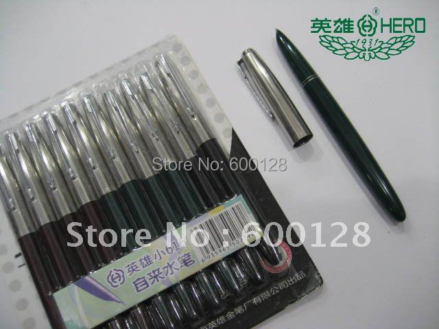Guaranteed 100% Genuine HERO small specifications of 616 fountain pen , Have security check code, Wholesale and retail
