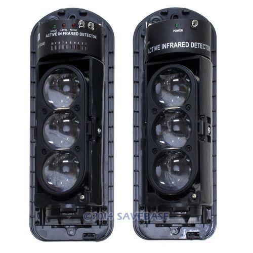 HOMSECUR B4 250m/820Feet IR Beam Infrared Barrier Detector HOME FARM DOOR Alarm(China (Mainland))