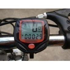 20912 new cable stopwatch / TECHKIN foreign trade without LOGO high quality stopwatch / bicycle ride / wired waterproof