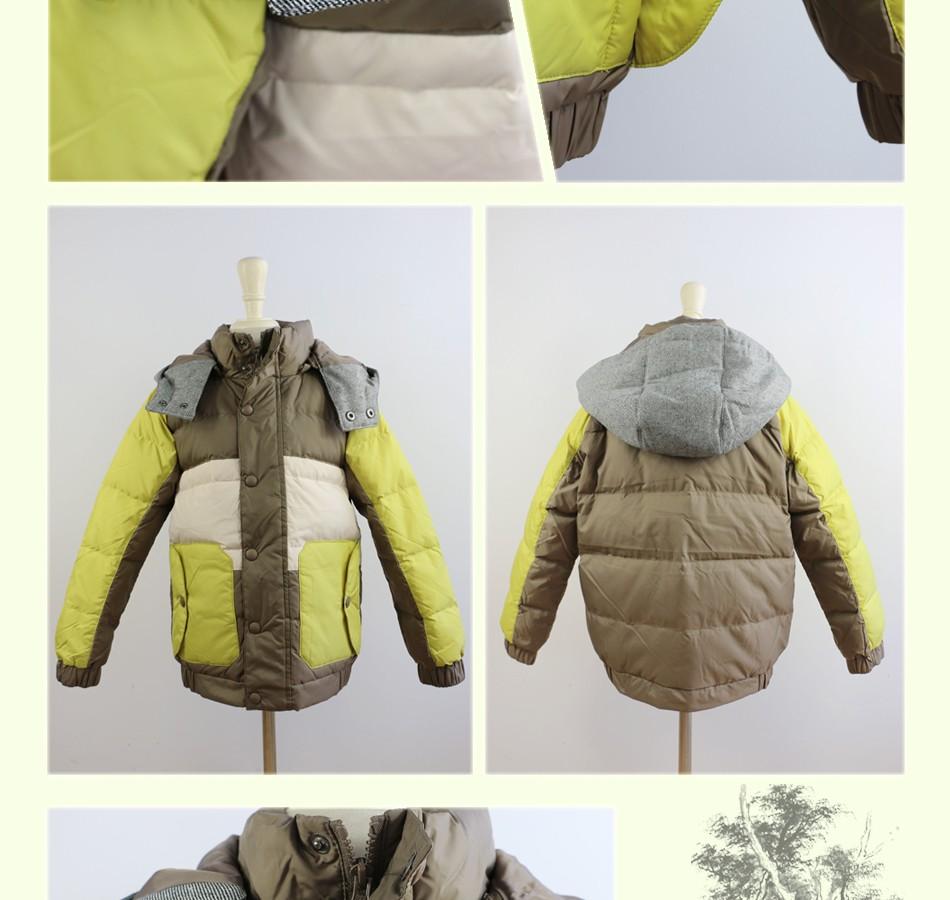 Скидки на Новый верхняя одежда мальчики пуховик детская зима загущающие куртки дизайн пуховик ребенок мужского пола загущающие парки 4C0745