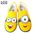 China Brand Shoes Despicable Me 2 Minions Children Girls Boys Kids Canvas Shoe Lazy Cartoon Minion