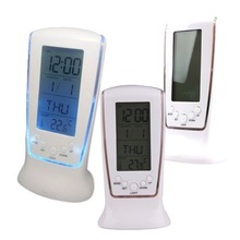 BETR LCD Digital Alarm Clock Calendar Thermometer Blue LED Backlight New(China (Mainland))