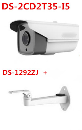 DS-2CD2T35-I5 multi-language version 3MP IP security camera 50m IR POE EXIR bullet CCTV camera 1080P IP66 replace DS-2CD2232-I5(China (Mainland))