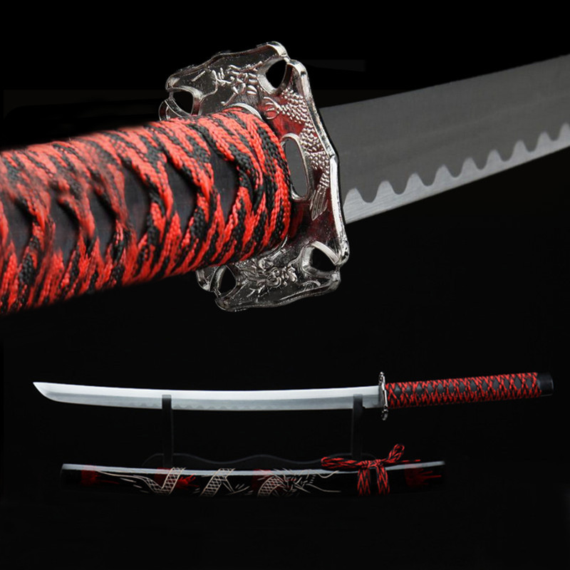 The Katana Tsuka Katana Resin handle Dragon handle Samurai
