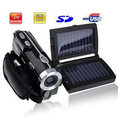3.0 inch 5.0MP Solar Powered 8X Zoom DV Digital Video Camcorder, Max pixels: 12.0 Mega pixels (Interpolation) - LGYD Mobile Phone Home store