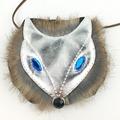 Cute Blue Eyes Fox Women Bag Baby Girl Mini Shoulder Bag For Women Cross Body Bags