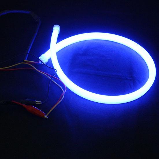 flexible blue led tube led strip drlcar led headlight stripe led. Black Bedroom Furniture Sets. Home Design Ideas
