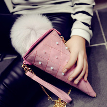 2016 New PU Leather Mini Icecream Chain Bag Packet Women Messenger Bags Cute Women Shoulder Bag Women Handbag Cheap(China (Mainland))