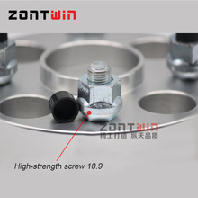 30MM ZONTWIN aluminum CNC wheel adapters spacers 5-127 71.6 suit for car DODGE  JCUV(China (Mainland))