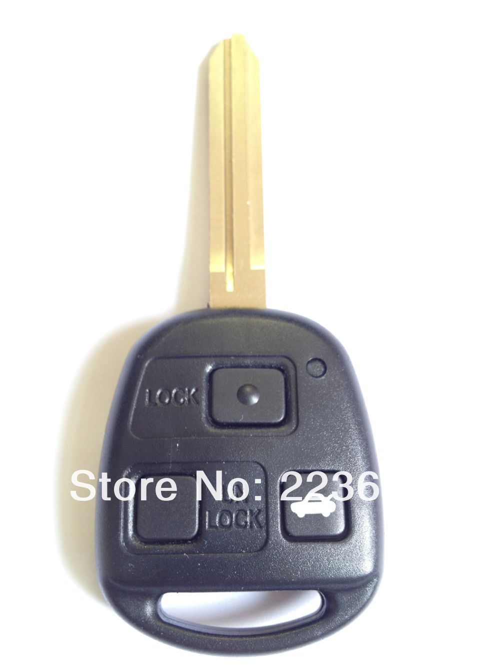 new 3 button toyota remote key(60081) 433mhz 4C chip inside free shipping(China (Mainland))