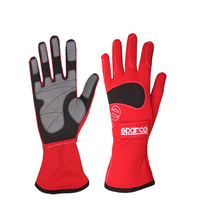 Картинг на Sparco перчатка, Спорт перчатка, Алькантара профессиональный автомобиль гонки перчатка