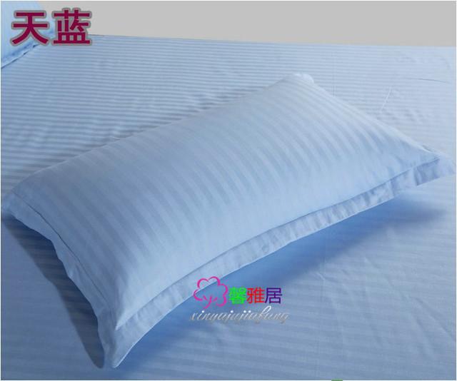 Sale Knitted 100% Cotton pillowcases 48 X 78cm  inner diameter 41x72cm