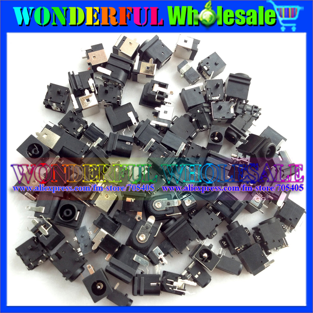 Common 45models,90pcs,Laptop DC Jacks for Acer/Asus/Sony/Toshiba/HP/Samsung/Fujitsu/Lenovo/...