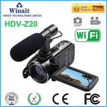"Buy Free Winait 1080P Full HD Digital Video Camera Camcorder 24MP 16x digital Zoom 3.0"" LCD Screen DV DVR for $120.00 in AliExpress store"