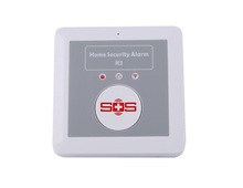 GSM SOS Alarm Free Call House Security Wireless Intrusion Alarm Senior Telecare System Support 6 Phone Number for Ask Quick Help(China (Mainland))