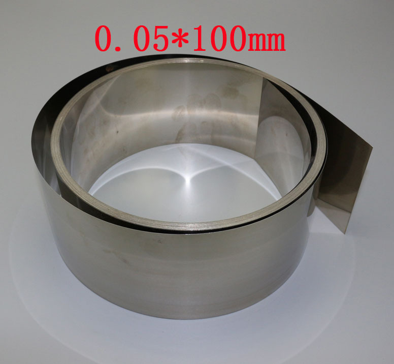 0.05x100mm Cold Rolled stainless steel Leaf Spring sheet Strip 5 meters(China (Mainland))