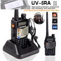 BAOFENG UV 5RA Two way display Interphone UV5RA 128CH VHF 136 174MHz UHF 400 470MHz Transceiver